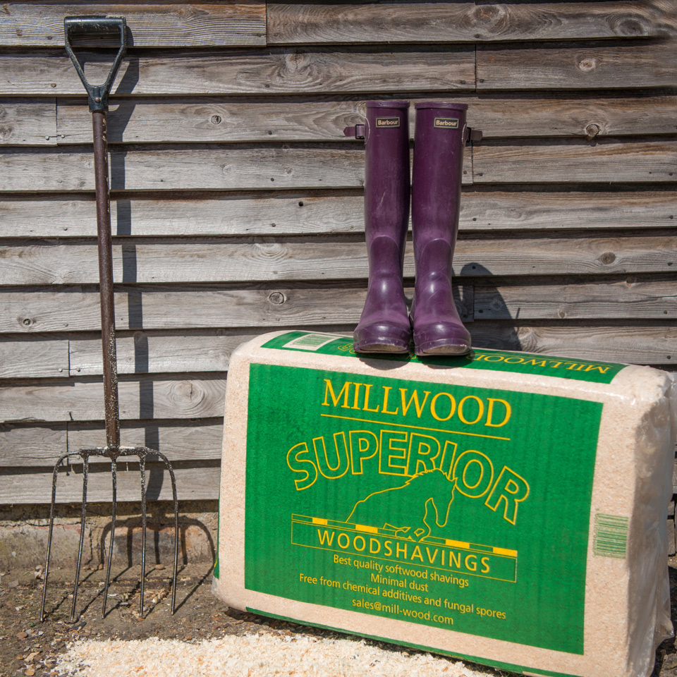 Equestrian woodshavings - Mill Wood